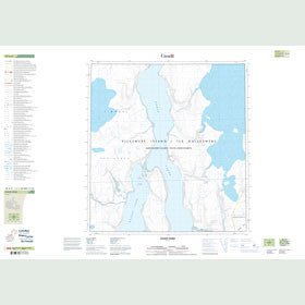 Canadian Topo Map - Goose Fiord - Map 059A09