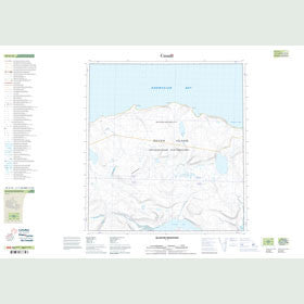 Canadian Topo Map - Blanche Mountain - Map 059A12