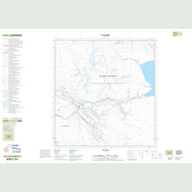 Canadian Topo Map - Map 059B08