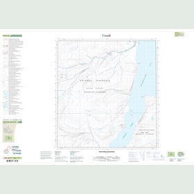 Canadian Topo Map - Discovery Mountain - Map 059B10