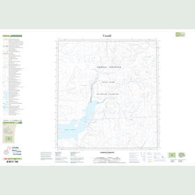 Canadian Topo Map - Barrow Harbour - Map 059B12
