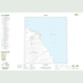 Canadian Topo Map - Mount Parker - Map 059B15
