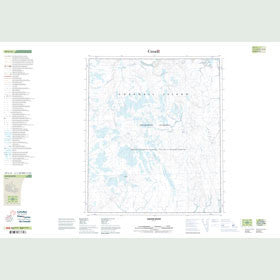 Canadian Topo Map - Jaeger River - Map 059C11