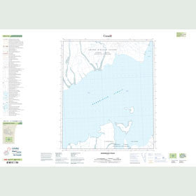 Canadian Topo Map - Hendriksen Strait - Map 059C13
