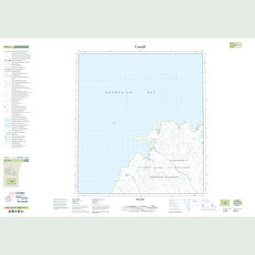 Canadian Topo Map - Map 059D01