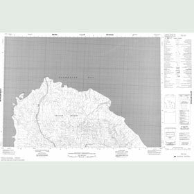 Canadian Topo Map - Map 059D11
