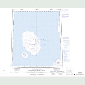 Canadian Topo Map - Graham Island - Map 059D