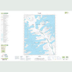 Canadian Topo Map - Map 059E15