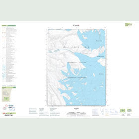 Canadian Topo Map - Map 059H02