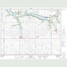 Canadian Topo Map - Holmfield - Map 062G03
