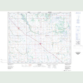 Canadian Topo Map - Springside - Map 062M07