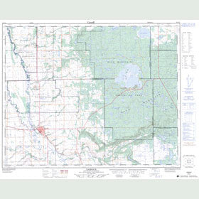 Canadian Topo Map - Kamsack - Map 062N12