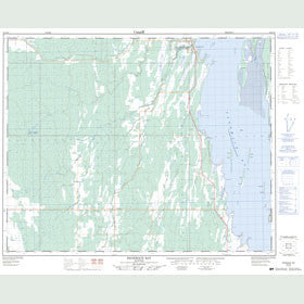 Canadian Topo Map - Sagemace Bay - Map 062N16