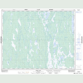 Canadian Topo Map - Howe Lake - Map 062P12