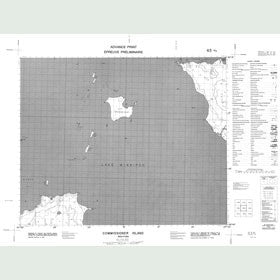 Canadian Topo Map - Commissioner Island - Map 063A03