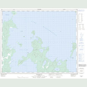 Canadian Topo Map - Pelican Bay - Map 063C16