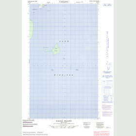 Canadian Topo Map - Eagle Island - Map 063G10