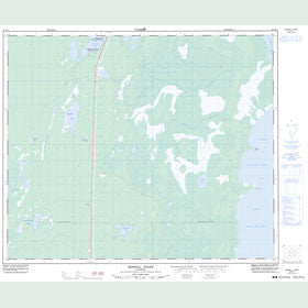 Canadian Topo Map - Howell Point - Map 063G11