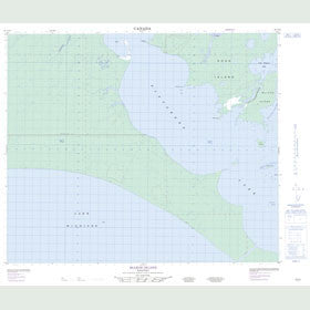 Canadian Topo Map - McLeod Island - Map 063G16