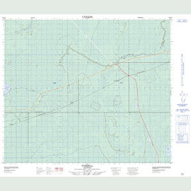 Canadian Topo Map - Tyrrell - Map 063J11