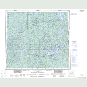 Canadian Topo Map - Granville Lake - Map 064C