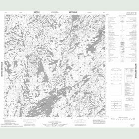 Canadian Topo Map - Map 065C07
