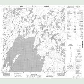 Canadian Topo Map - Simons Island - Map 065D09