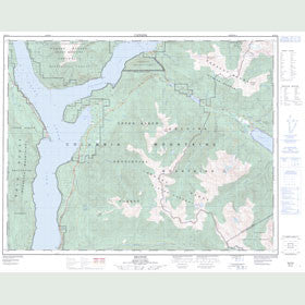 Canadian Topo Map - Beaton - Map 082K12