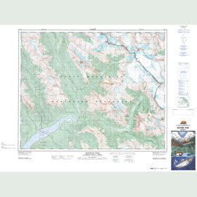 Canadian Topo Map - Rostrum Peak - Map 082N14