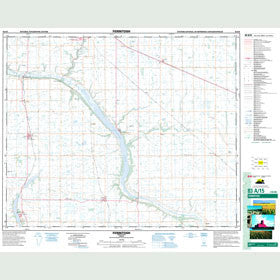 Canadian Topo Map - Ferintosh - Map 083A15