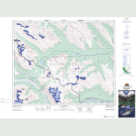 Canadian Topo Map - Cline River - Map 083C02