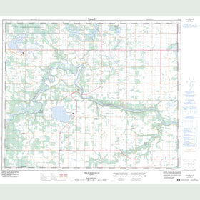 Canadian Topo Map - Telfordville - Map 083G08