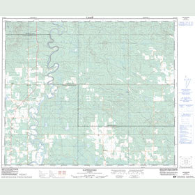 Canadian Topo Map - Hattonford - Map 083G13