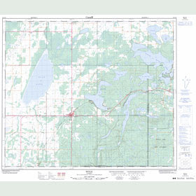 Canadian Topo Map - Boyle - Map 083I10