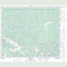 Canadian Topo Map - Copton Creek - Map 083L03