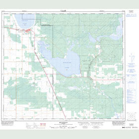 Canadian Topo Map - McLennan - Map 083N10