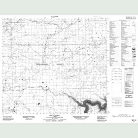 Canadian Topo Map - Brule Point - Map 084A10