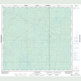 Canadian Topo Map - Lovet Creek - Map 084E01