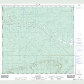 Canadian Topo Map - Haro River - Map 084E16