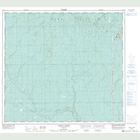 Canadian Topo Map - Goffit Creek - Map 084F05