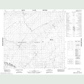 Canadian Topo Map - Map 084H14