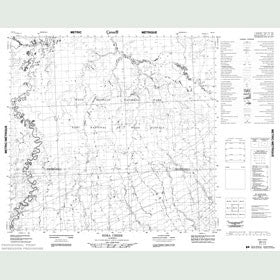Canadian Topo Map - Edra Creek - Map 084I04
