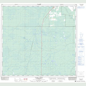 Canadian Topo Map - Parma Creek - Map 084K06