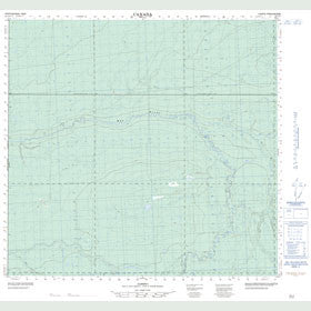 Canadian Topo Map - Map 084L05