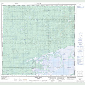 Canadian Topo Map - Vardie River - Map 084L14