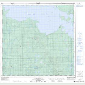 Canadian Topo Map - Jackfish Point - Map 084M10
