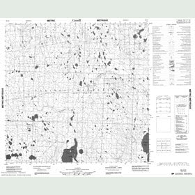 Canadian Topo Map - Map 084O02