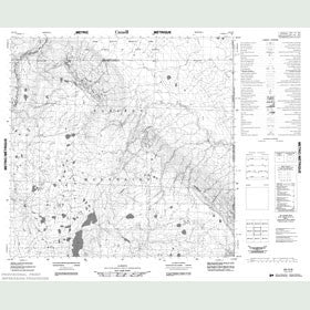 Canadian Topo Map - Map 084O08