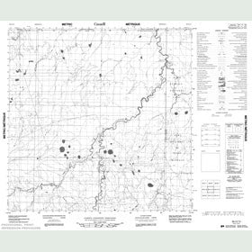 Canadian Topo Map - Map 084O13