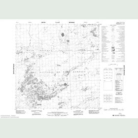 Canadian Topo Map - Map 085A06